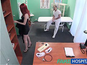 FakeHospital lovely sandy-haired rails medic for cash
