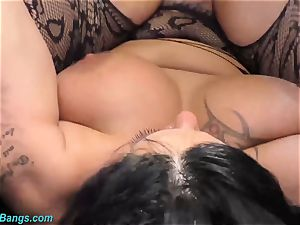 big-chested stunner Ashley jizm starlet