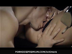 xCHIMERA - Amirah Adara creampied in fetish hump sequence