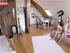 Czech teen beauty Alexis Crystal very first porno Shoot