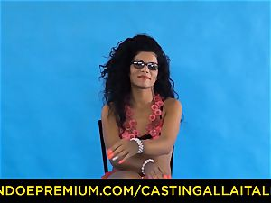 casting ALLA ITALIANA - Romanian nymphomaniac donk pummeled